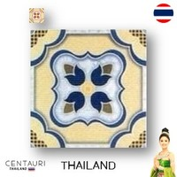 glazed 300*300 mm new blue red pink flower pattern from Thailand porcelain interior tile and tile from Thailand
