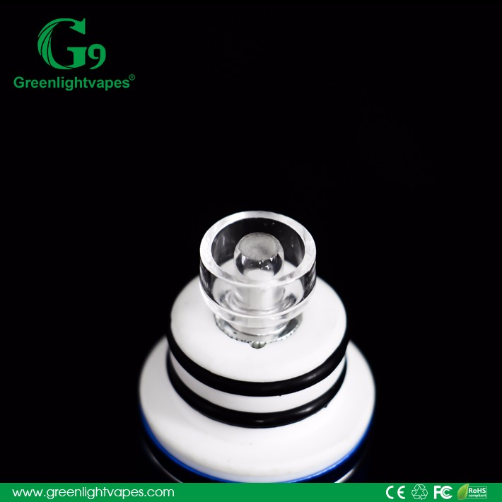Hot new products for 2016 greenlightvapes portable wax vaporizer g9 h-enail