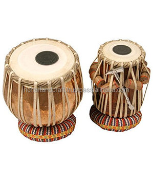 TABLA DRUMS SET PROFESSIONAL 2.5 KG Copper BAYAN SHESHAM WOOD DAYAN Musical Instrument India Indian
