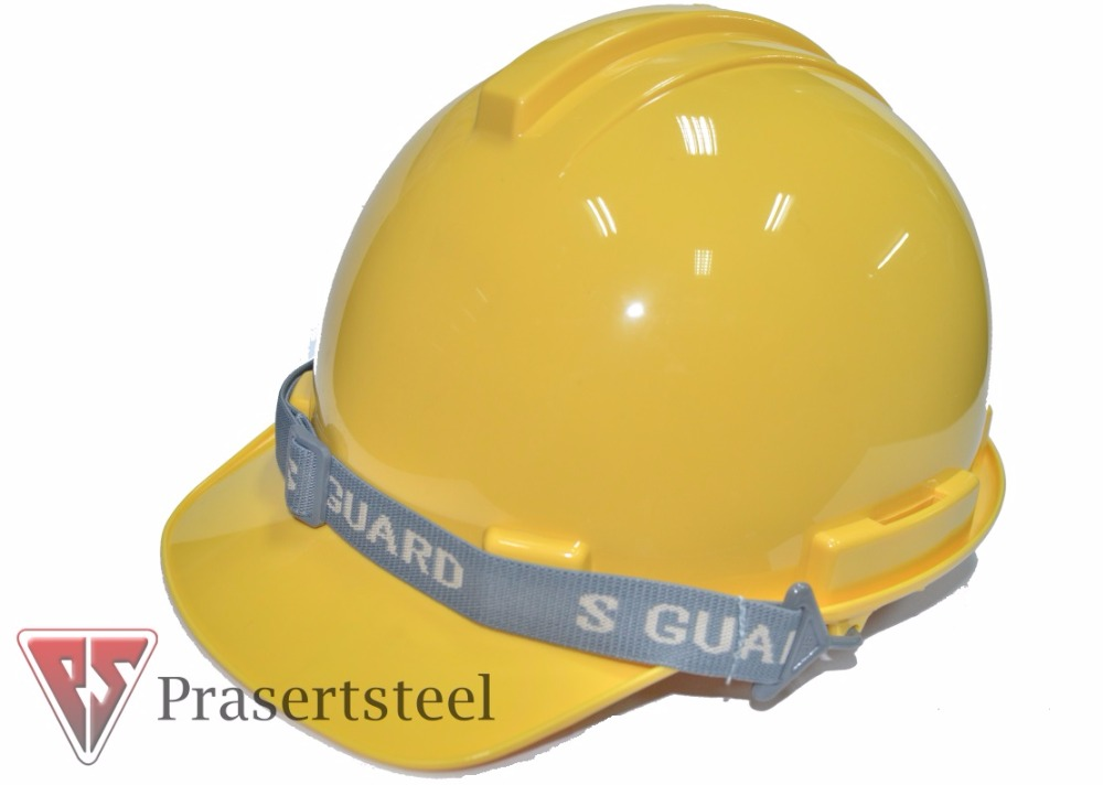 S-GUARD Safety Helmet 6-point nylon suspension ( Yellow )