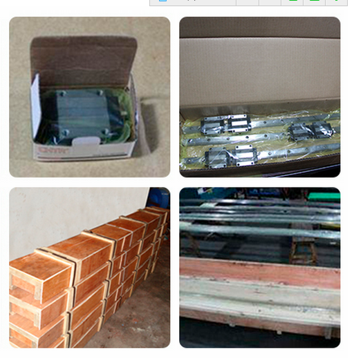 HGW20 best quality HIWIN brand linear guide rails and block