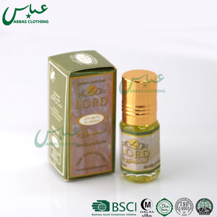 ABBAS Brand 2017 Corban Islamic Gifts 3ML glass mix flavor muslim prayer perfume 01