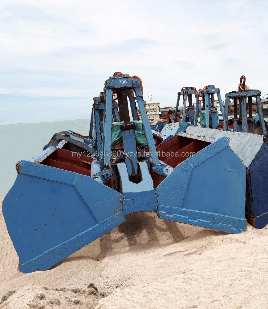 Hydraulic dredge bucket