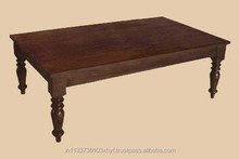 sheesham wood solid indian large coffee table