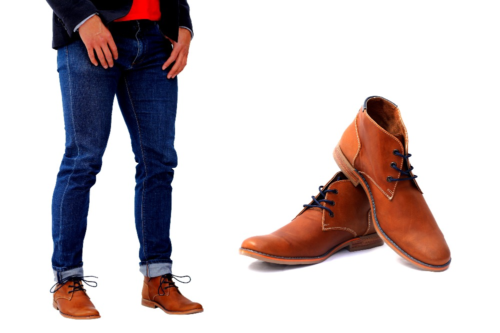 Casual leather shoe, Men boots, Fashion men boots