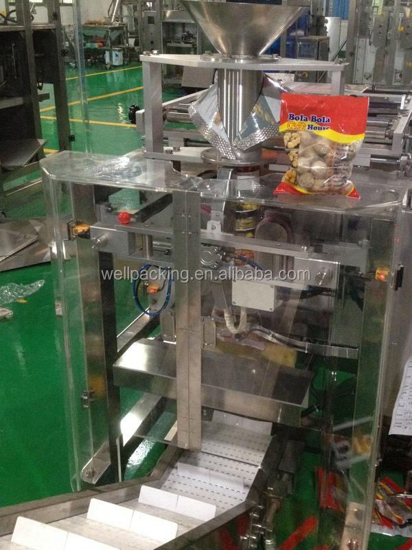Meat balls, dumplings etc frozen food packaging machine for plastic bags