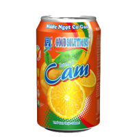 Orange Soft Drink 330ml Can