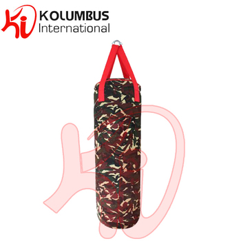 Camouflage Punch bag Heavy Bag Kick Boxing Punching Bag Sand Bag For Standard Style Training Strikes Ideal for Training