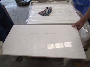 Polished White Marble stone
