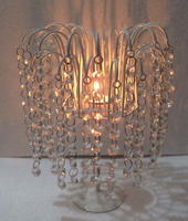Exclusive Crystal Metal Stand Decorative t-light Holder