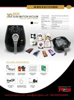 3D Mini Vacuum Press Sublimation Machine
