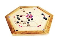 Hexagon Carrom Board