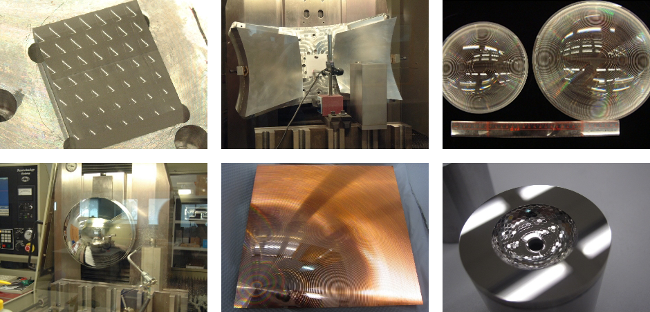 freeform, fresnel, micro structure, high precision lens and mold insert