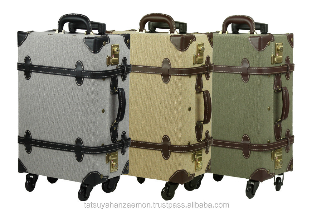 trolley bag TSA oem classic vintage wheel for suitcase style luggage travel bag suitcase from luggage bags & cases