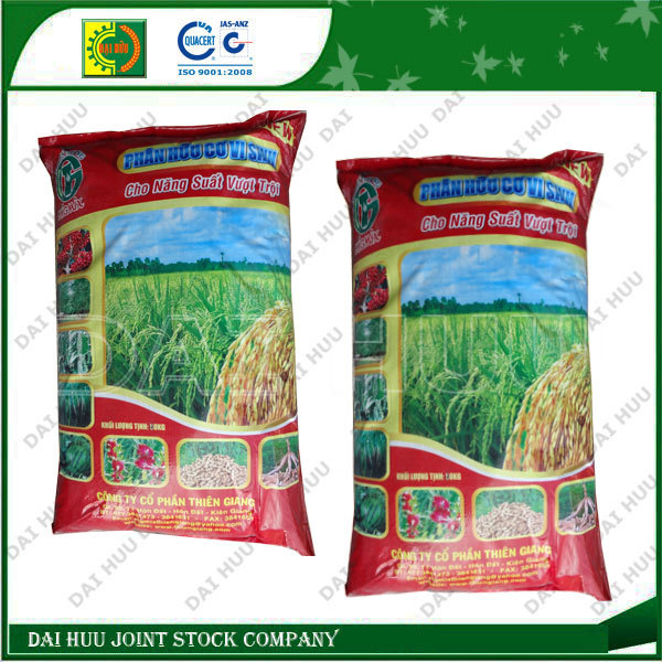 PP woven bag with Lamination using for Fertilizer