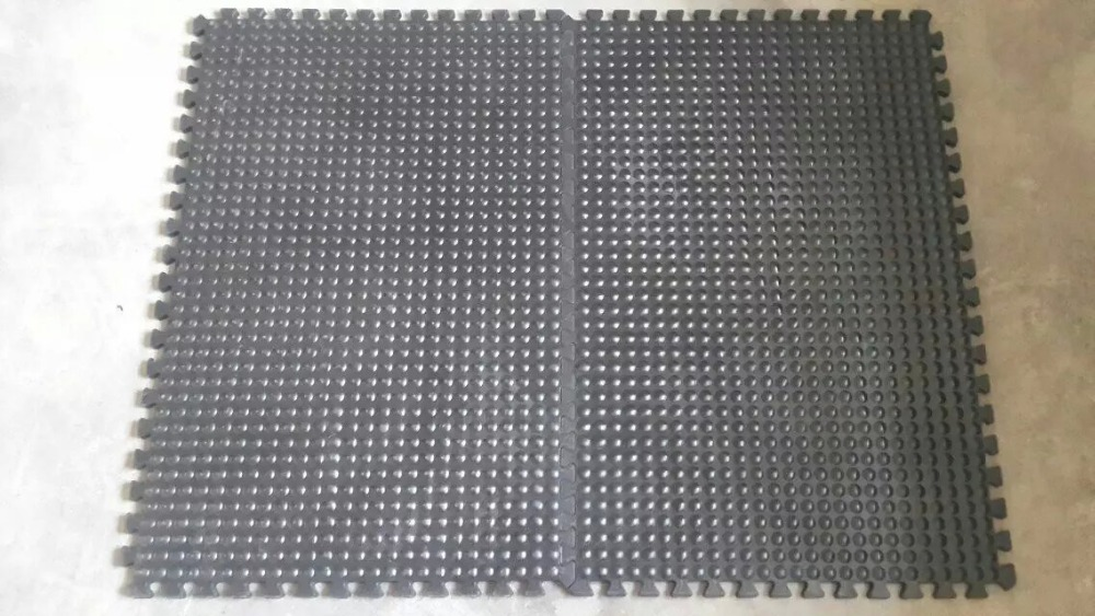 Comfort Dome ESD-Safe Anti-Fatigue Floor Mat, Black, 3' x 4' Flooring Mat