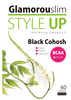 Healthy black cohosh extract bust up supplement containing 120 raw enzymes