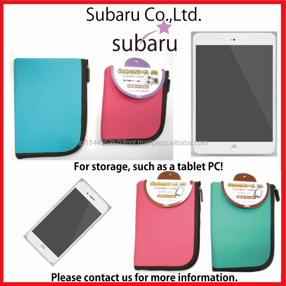 Fashionable and High cushion quality flip case for 7 inch tablet for household use , strap also available