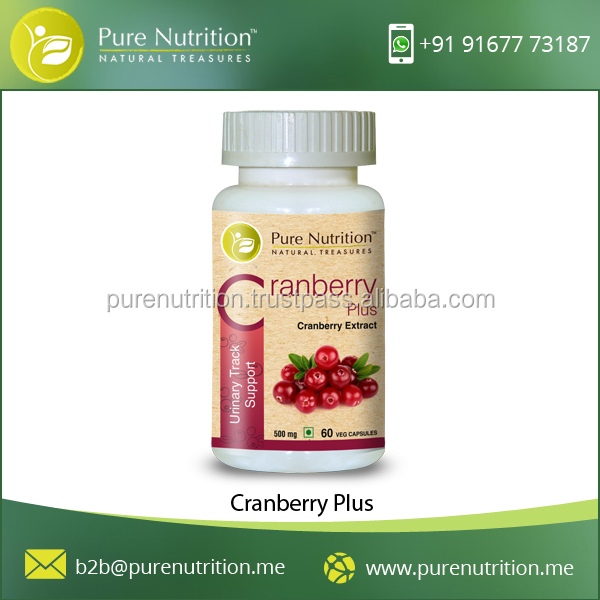 Natural Cranberry Plus Prevents Urinary Infection