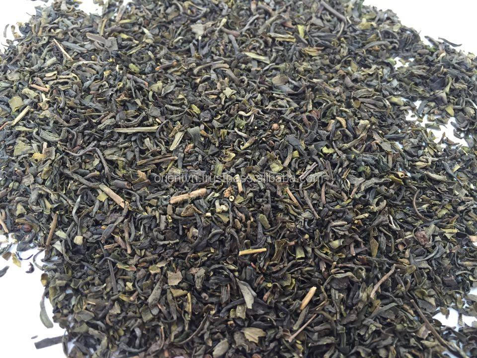 The copper wire,floral fruity, fresh and cool water broken green tea