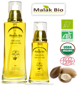 Morocco Argan Oil cold pressed 100% pure certified Ecocert /USDA /ISO 9001