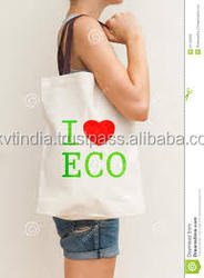 eco friendly custom made custom design printed shopping tote bags