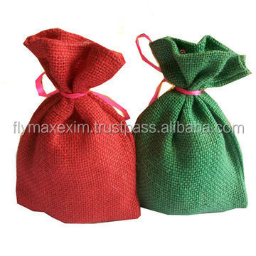 Hot Promotional Jute Drawstring Bag