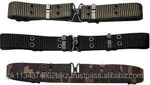 Army Green PP Webbing Military Belt