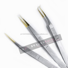 Hot pakistan factory false eyelash sharp pointed eyelash tweezers