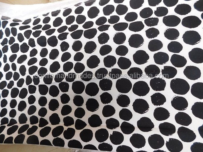 printed canvas fabrics suitable for making bags and cushion covers made as per customer specified designs in 60 inch width