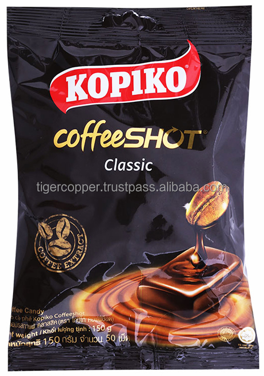 KOPIKO COFFESHOT CLASSIC COFFEE CANDY BAG 150G