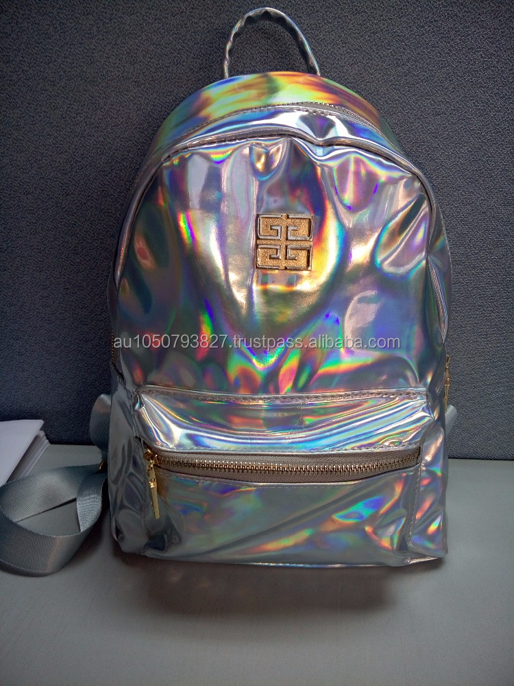 Colorful Holographic backpack