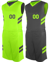 Customized sublimation design printed Basketball Uniform/ Custom reversible basketball uniforms