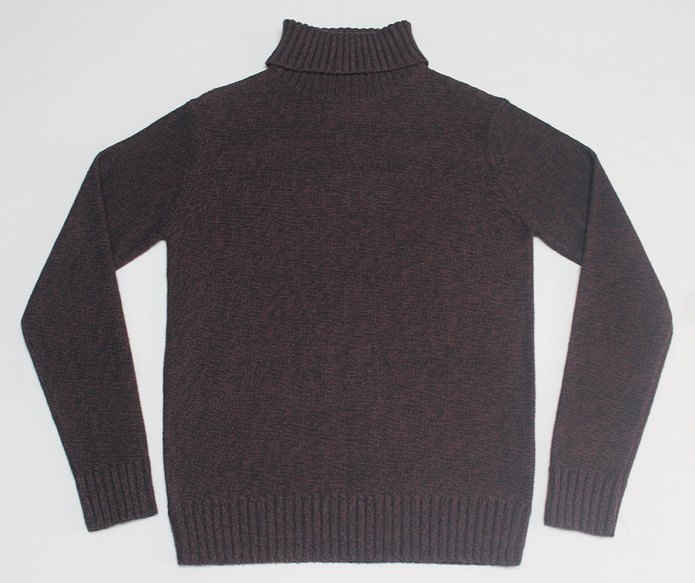 MENS TURTLE NECK TWIESTED SWEATER