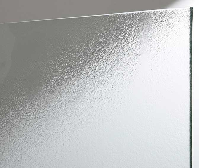 Corrugated glass slumping textured glass panel buy for Textured glass panels