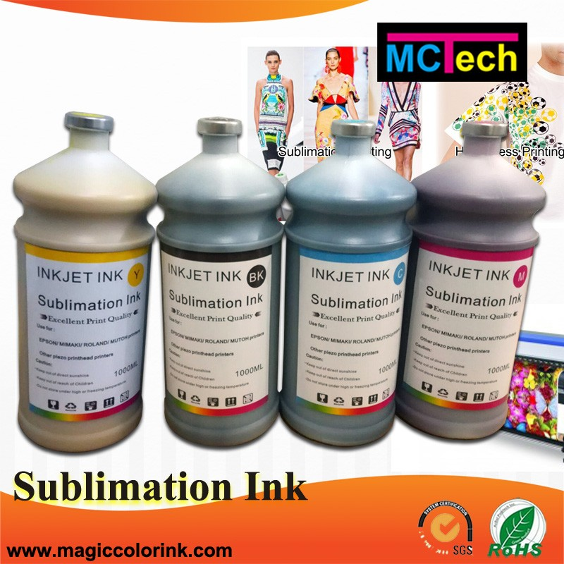 Compatible For Ricoh Korea Kiian Sublinova neon low temperature dye sublimation ink