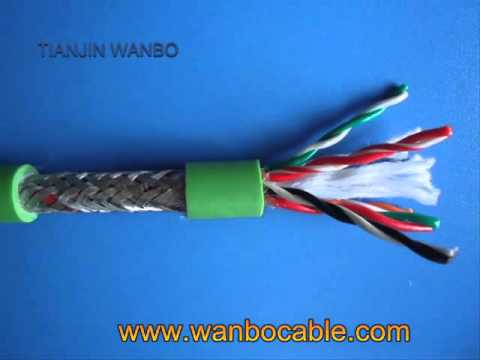 300��500v pvc insulated shielded twisted pair cable, stp cable For Sale