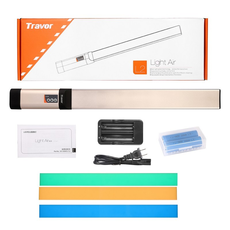 Travor Brand L2 Light Air Series more options for Led Video Light photography studio lighting kit