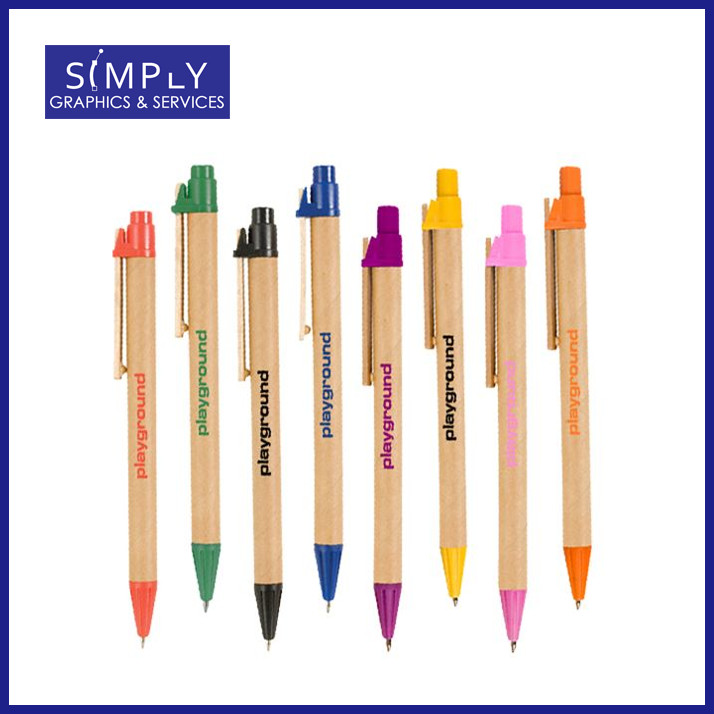 Promotional Recycled Cardboard Pen/Eco Friendly Pen Office Stationery