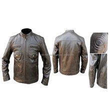 Customized Manufacturer Leather Motorcycle/Motorbike Jackets