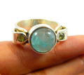 Natural Apatite peridot 925 Sterling Silver Ring 925 sterling silver jewelry wholesale,JEWELRY EXPORTER