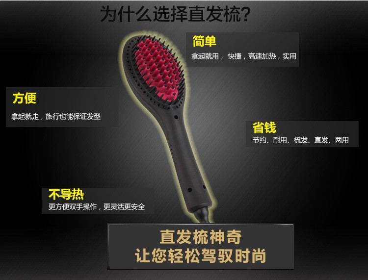Duet Hair Straightening Brush