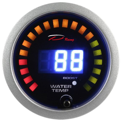 52mm D-BL Digital Auto Depo Racing Transmission Temperature Gauge