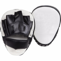 Leather Training target punch pads / PU boxing focus mitts