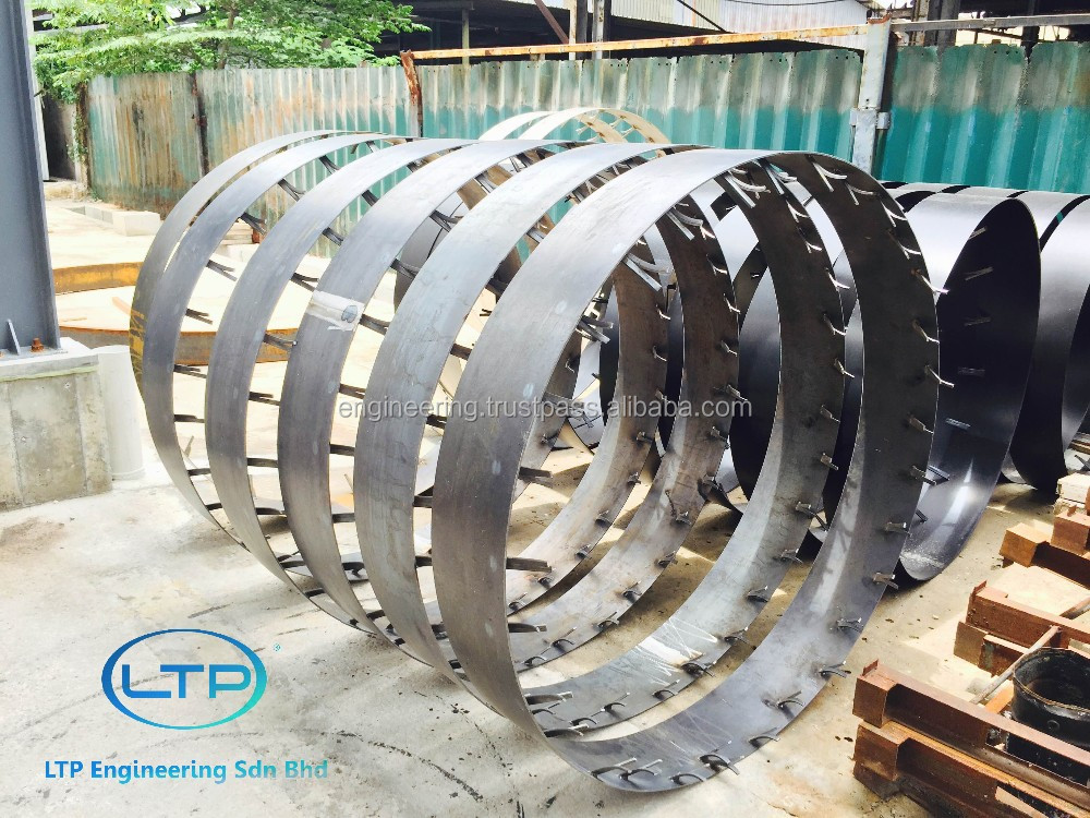Stainless Steel/Mild Steel Collar for Concrete Jacking Pipe (Cast in Collar)