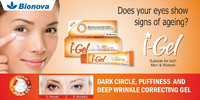 I-GEL under eye dark circle, puffiness and deep wrinkle correcting gel