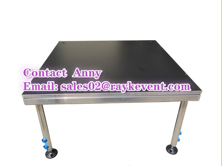 New product beyond mobile stage anti-slip aluminum stage