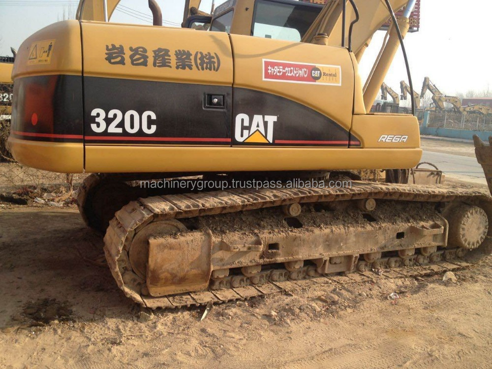 High Quality Used CAT Caterpillar 320C Crawler Excavator for Sale