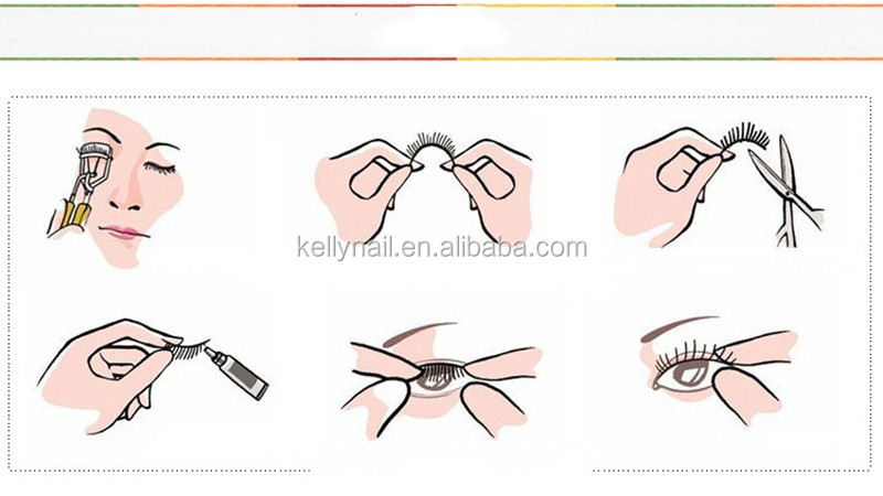 100% real mink eyelash extension 3D mink eyelashes
