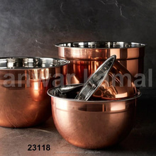 Copper Mixure Bowl
